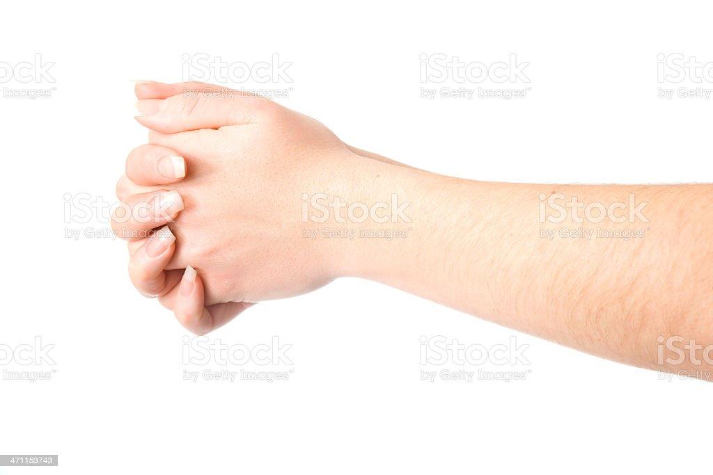 Hände Verschränken Stockfoto und mehr Bilder von