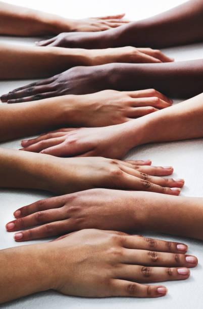 Mains vers le bas, le meilleur des mains dans le secteur de la beauté - Photo