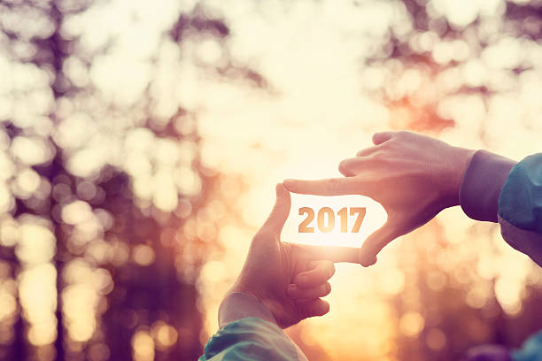 Hands framing 2017 Hands framing 2017 2017 stock pictures, royalty-free photos & images