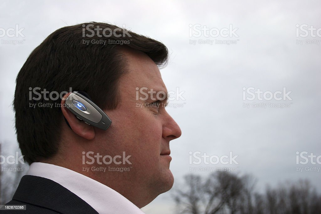 Hands Free Headset royalty-free stock photo