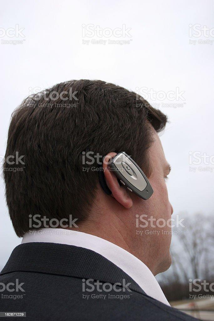 Hands Free Headset stock photo