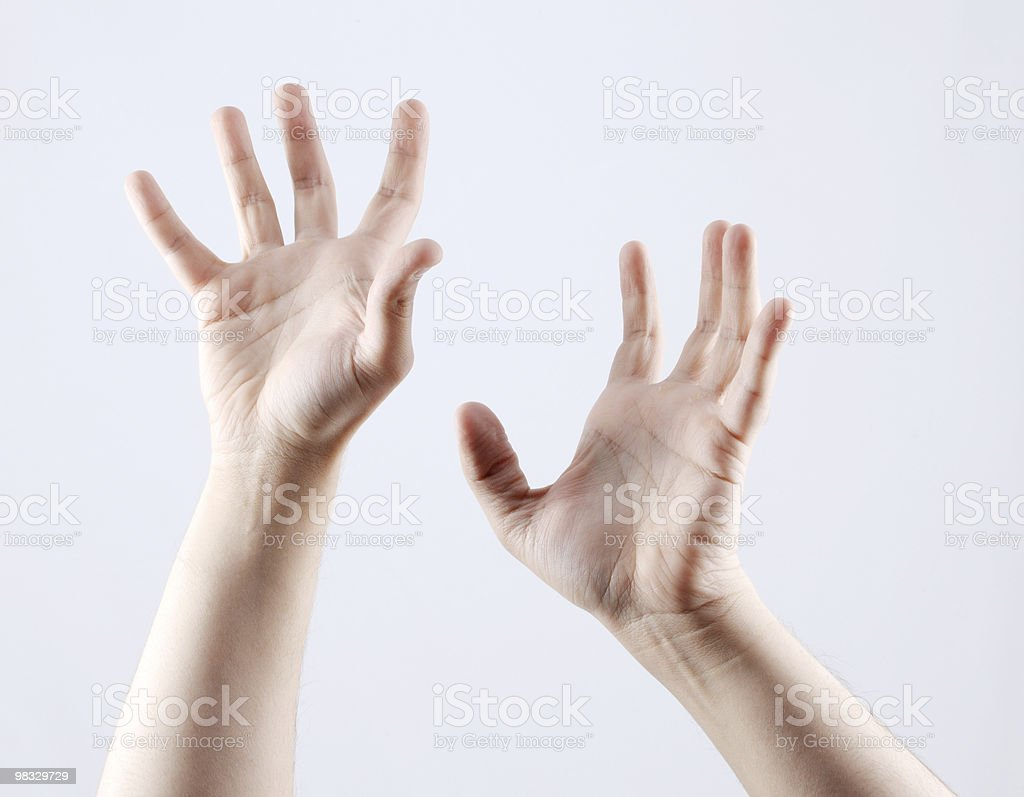hands gesturing royalty-free stock photo