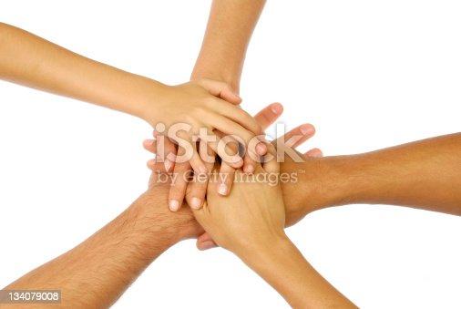 866758230istockphoto Hands group 134079008