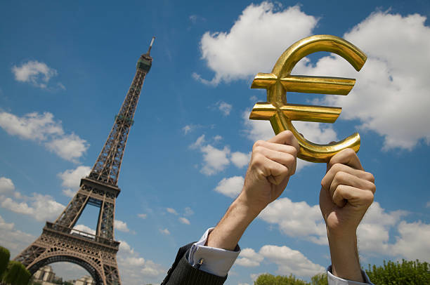 Royalty Free Euro Symbol Currency Paris France Business Pictures