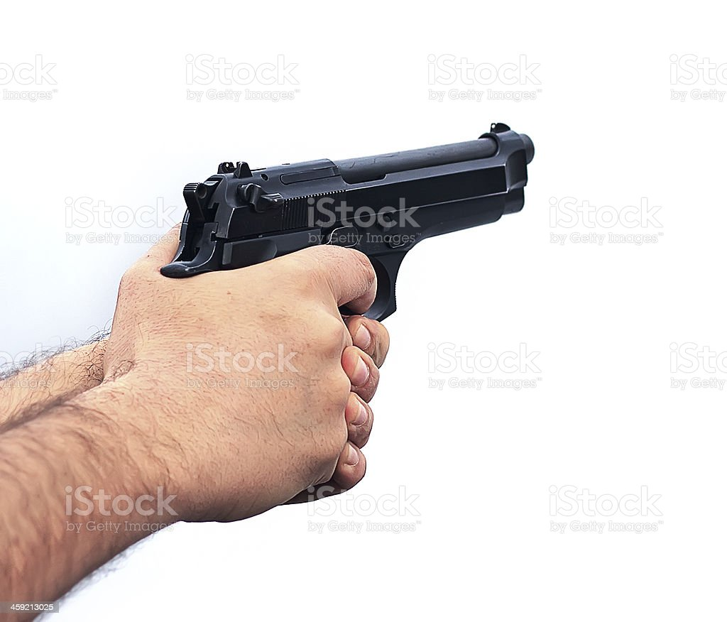 Top 60 Hand Holding Gun Stock Photos, Pictures, and Images ...