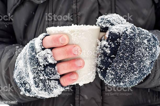 Photo of Hands holding a mug