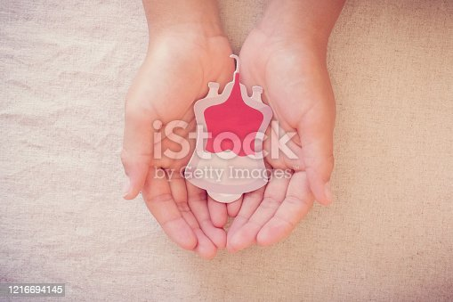 istock Hands holding blood bag,  give blood donation, blood transfusion, world blood donor day, world hemophilia day concept 1216694145