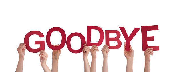 mãos segurando adeus - despedida - fotografias e filmes do acervo