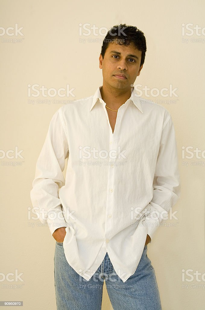 Hands In Pockets royalty-free stock photo