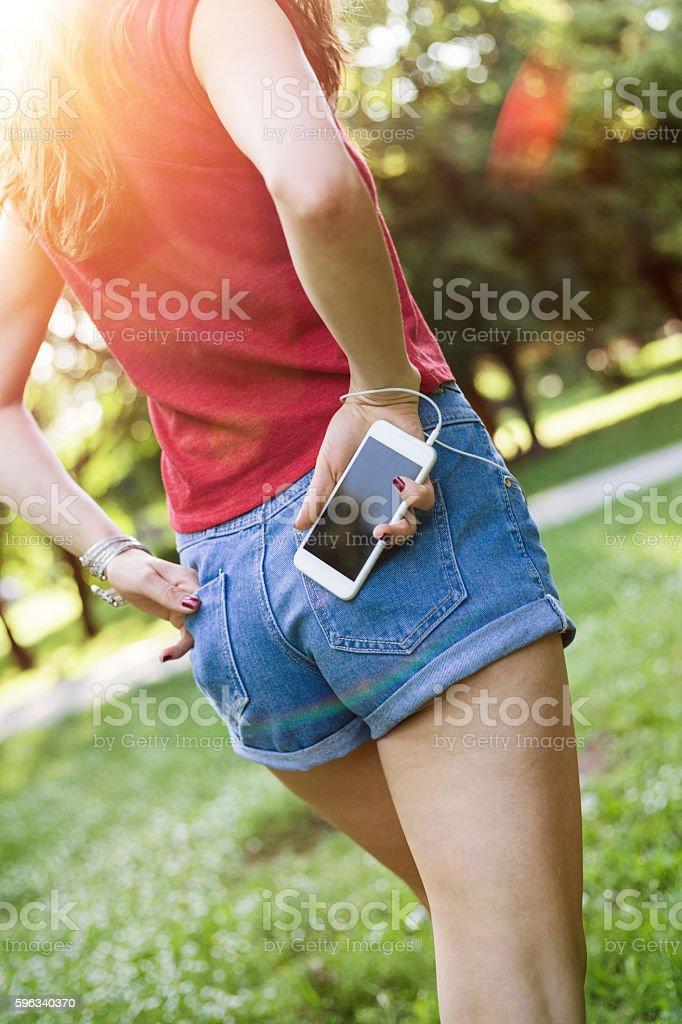 Hände in den Taschen Lizenzfreies stock-foto