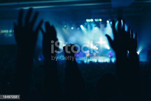 istock Hands in Worship 154970331