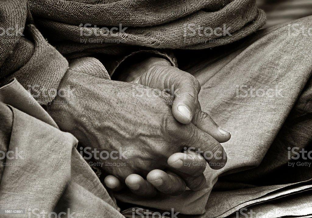 Hände ein Yogi – Foto