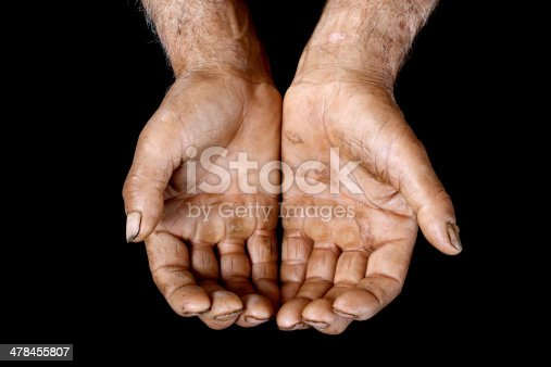 istock Hands of agricultural worker 478455807