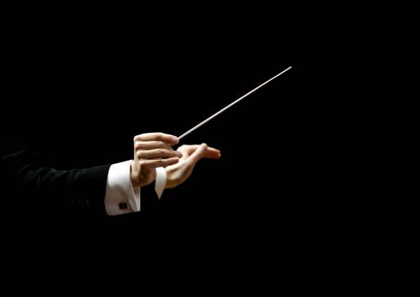 Hände des Dirigenten – Foto