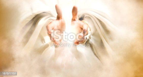 istock Hands of God 157377707