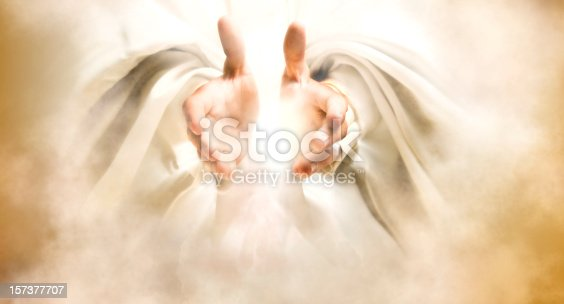 istock Hands of God 157377707