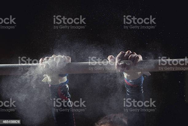 Hands Of Gymnast Stock Photo - Download Image Now