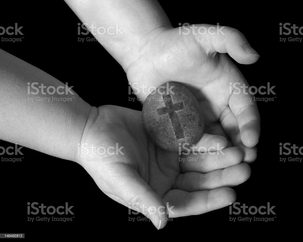 Hands of Peace stock photo