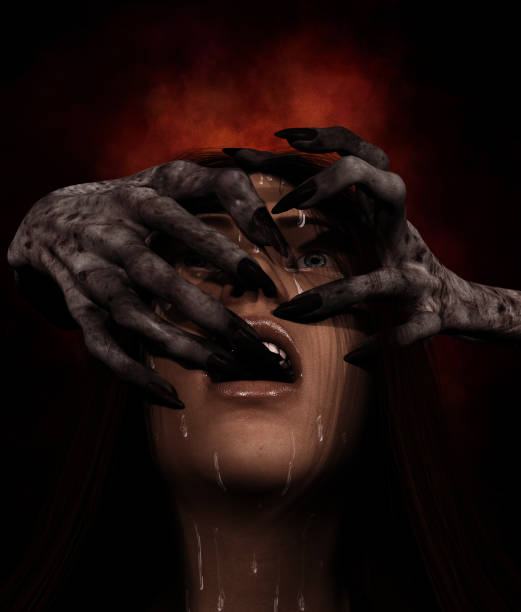 hands of the devil - cursed stock pictures, royalty-free photos & images