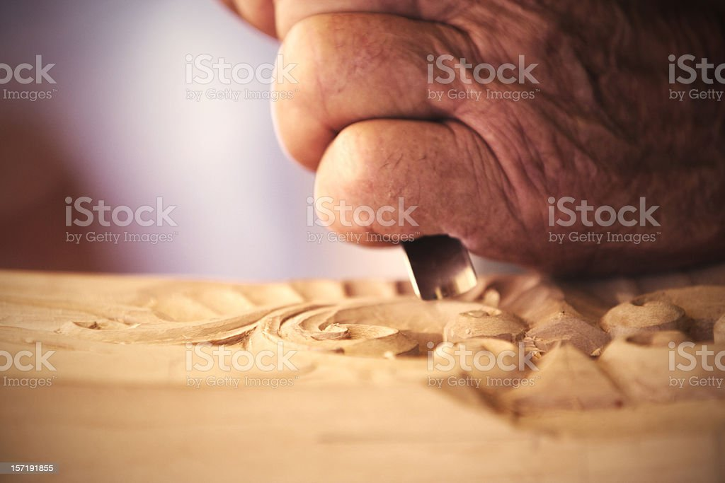 hands of the father stock photo
