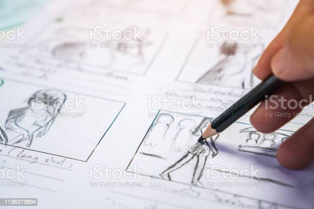 Hands on storyboard movie layout for preproduction storytelling for picture id1136373894?b=1&k=6&m=1136373894&s=612x612&h=zwqhur6yqrrgw8kwekf3nwcac bnopqb4yr5nnf46 4=