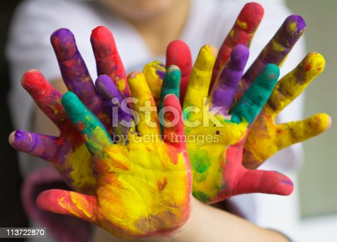 istock hands painted 113722870