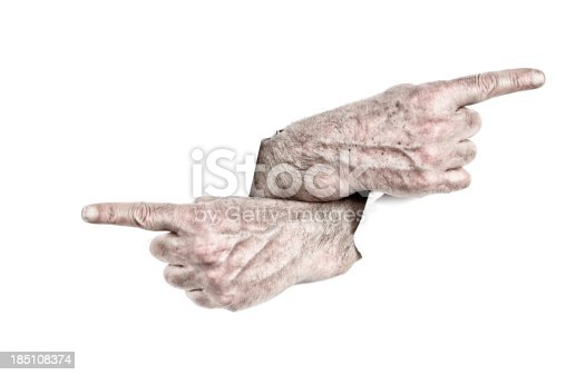 170011440 istock photo Hands Pointing 185108374