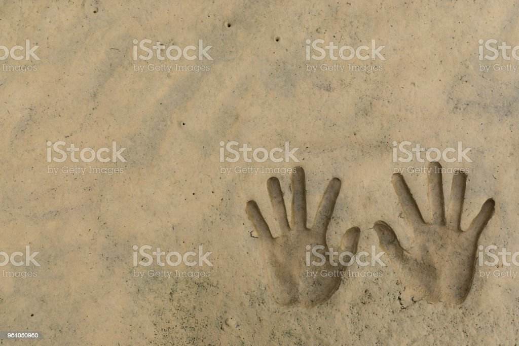 Hands print - Royalty-free Abstract Stock Photo