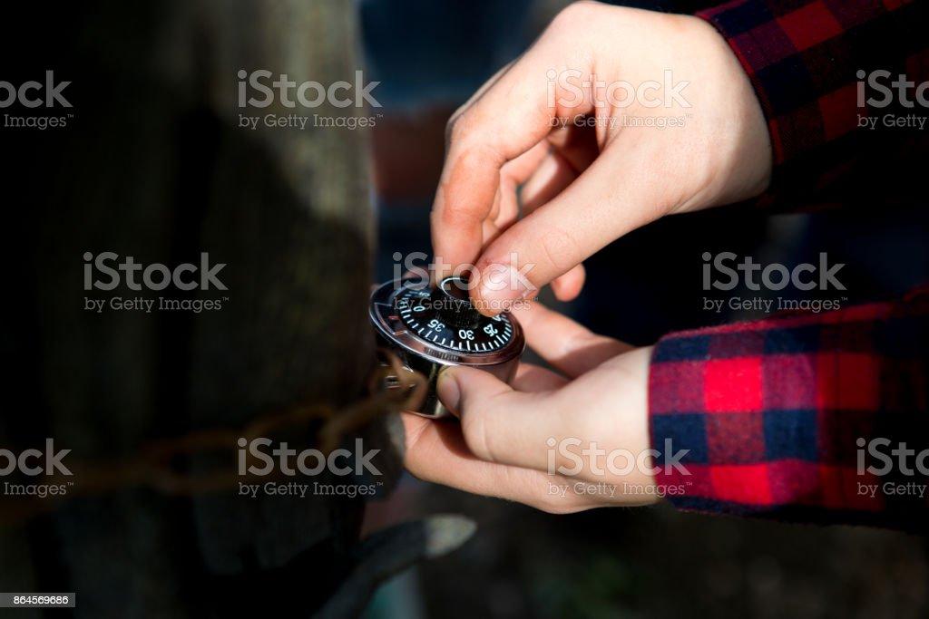 hands quest stock photo