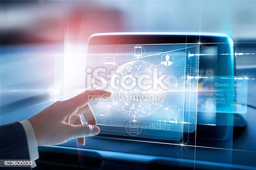 823686906istockphoto Hands touching circle global network connection and icon customer 623605530