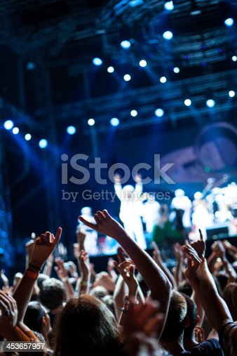 istock Hands up at the concert 453657957