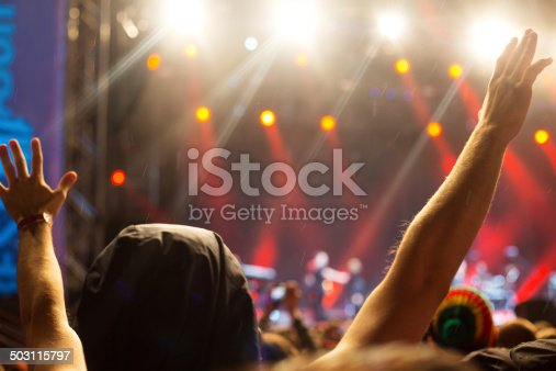 1069137774 istock photo Hands up at the concert 503115797