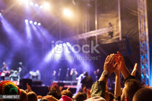 1069137774 istock photo Hands up at the concert 504687527