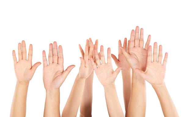Hände hoch – Foto