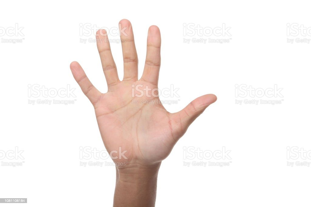 Hands With A Meaning Stock Photo - Download Image Now - iStock