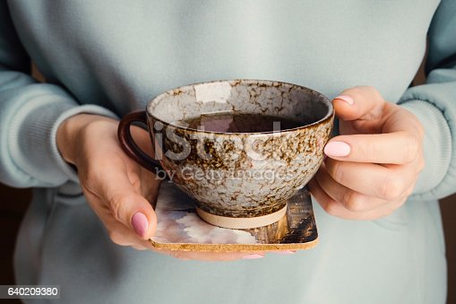 Tea - Hot Drink, Winter, Coffee Cup, Human Hand, enjoy