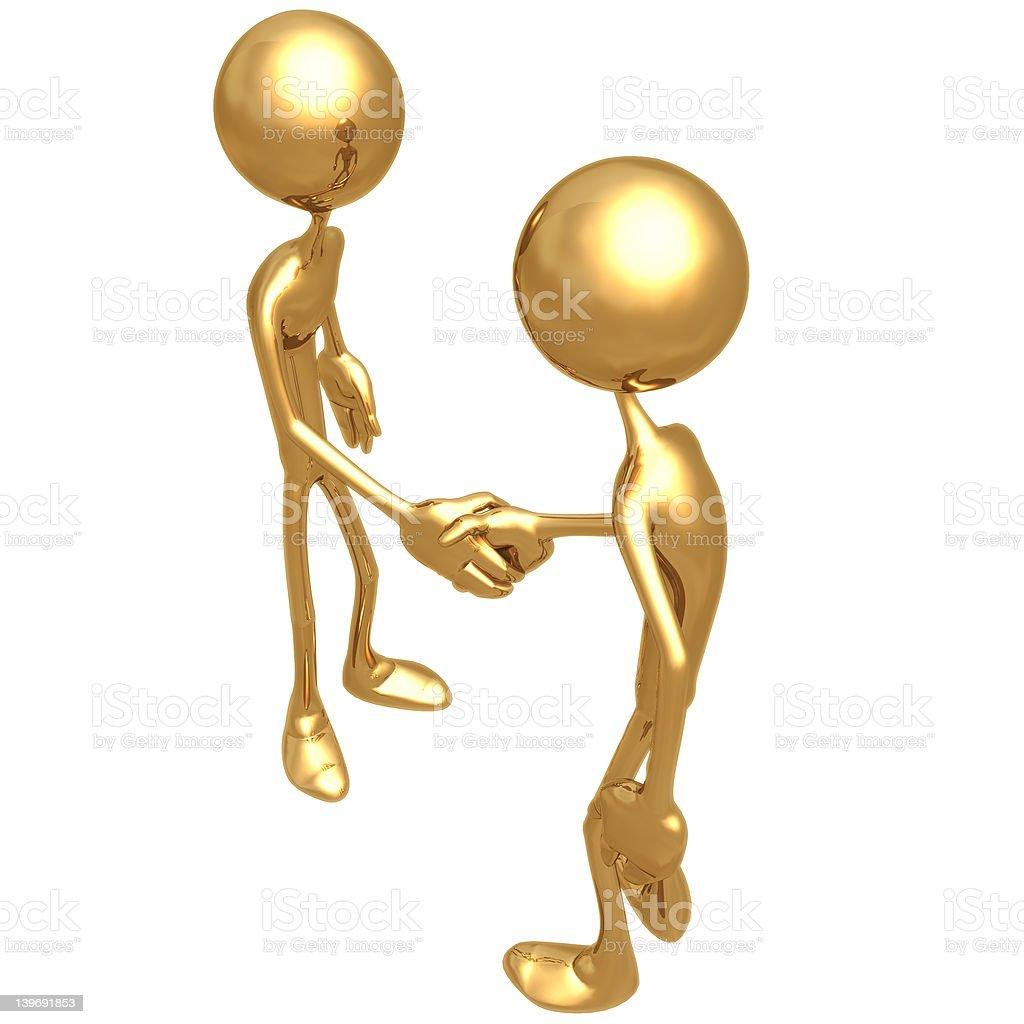Handshake 02 royalty-free stock photo