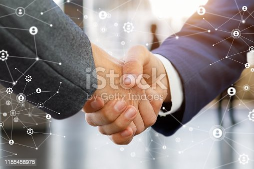 istock A handshake after an agreement is made . 1155458975