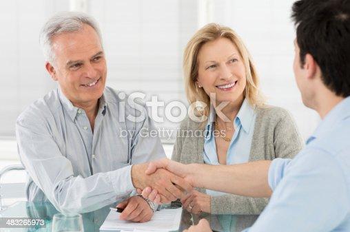 istock Handshake and agreement 483265973