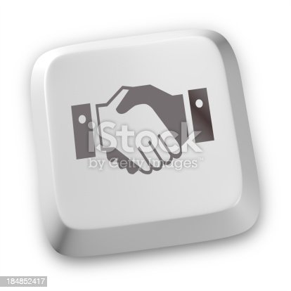 istock Handshake icons 184852417