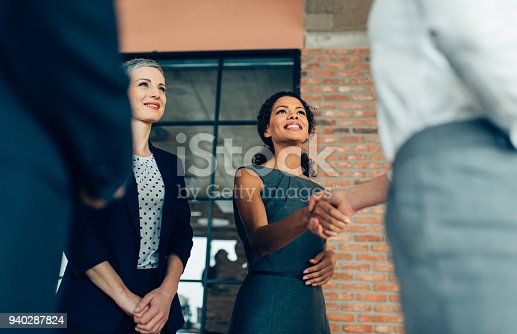 istock Handshake of business People 940287824