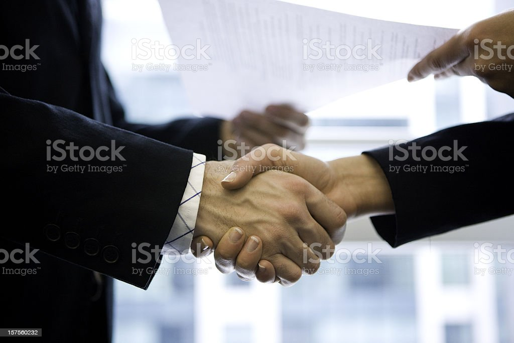 Handshake - Royalty-free Adult Stock Photo