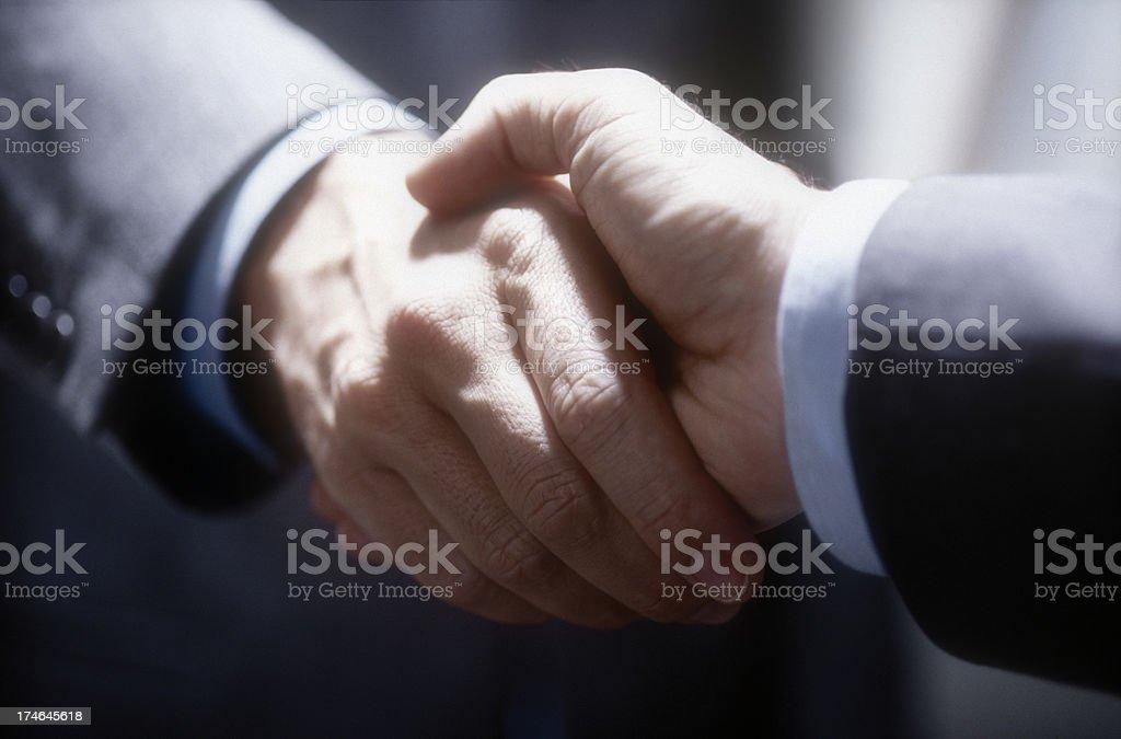 Hände schütteln - Lizenzfrei Abmachung Stock-Foto