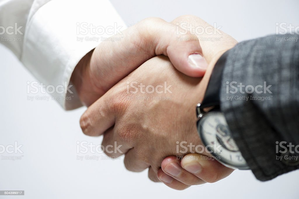 Handshake stock photo