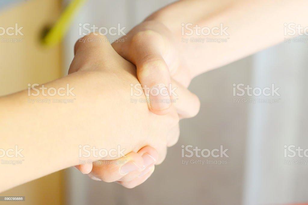Рукопожатие  Стоковые фото Стоковая фотография
