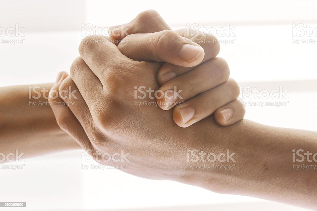Handshake royaltyfri bildbanksbilder