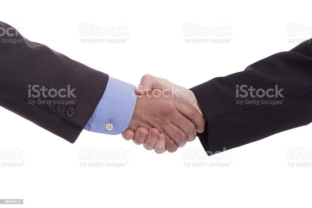 Handshake royalty-free stock photo