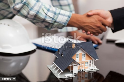1055059750istockphoto Handshakes after contract signature 865355174