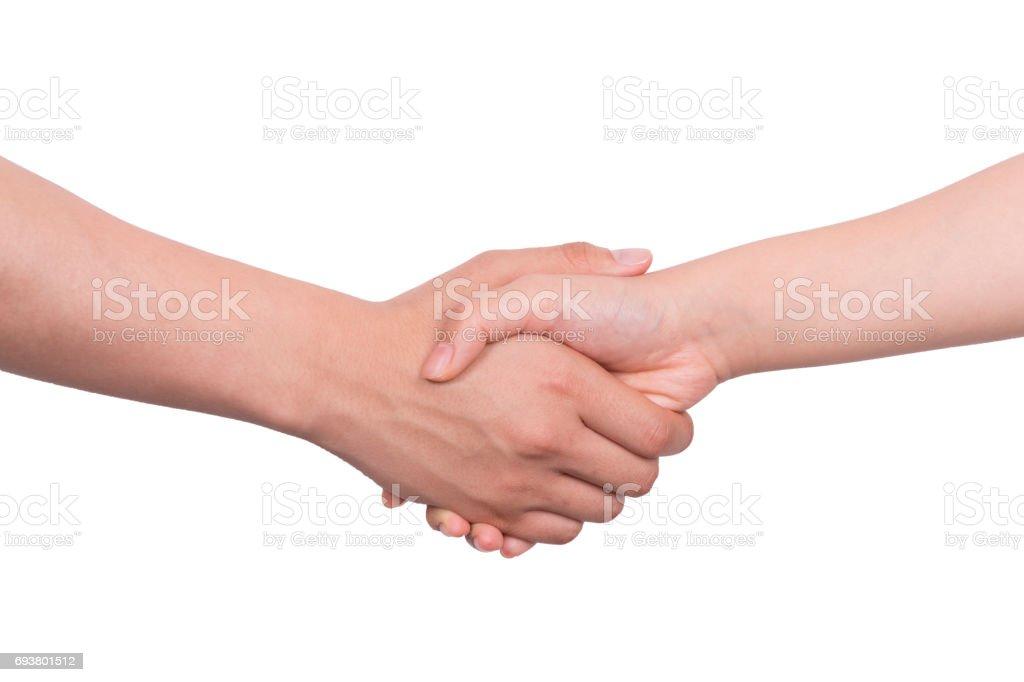 Handshaking – Foto