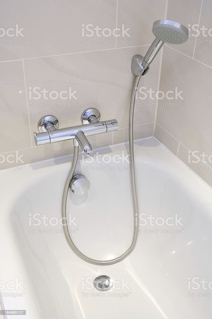 Handshower Attachment Stock Photo & More Pictures of Architectural ...